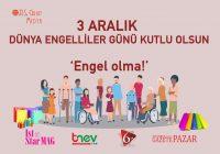 3 Aralık Dünya Engelliler Günü…